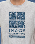 ProductID - 157 - 4508 IMAGE IS EVERYTHING DISTRESSED GRAY SMALL