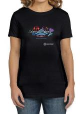 ProductID - 177 - 4521 WAVES OF POSSIBILITY BLK LADIES TEE