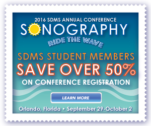 2016 SDMS Annual Conference Student Discounts