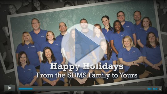 Happy Holidays From the SDMS Family to Yours 2016